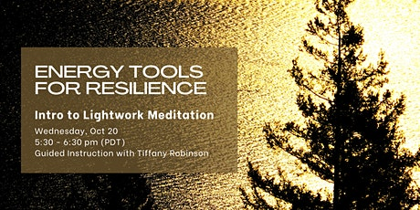 Energy Tools for Resilience: Intro to Lightwork Meditation - FREE (online) tickets