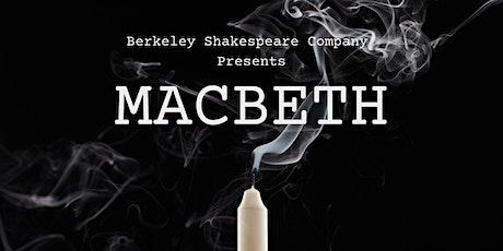 Berkeley Shakespeare Company Presents: Macbeth tickets