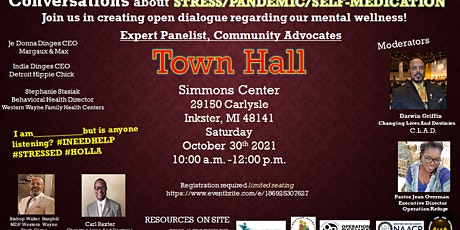 Town Hall conversation on Mental Health tickets
