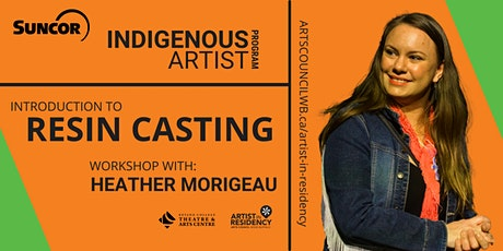 Introduction to Resin Casting: Workshop with Heather Morigeau tickets