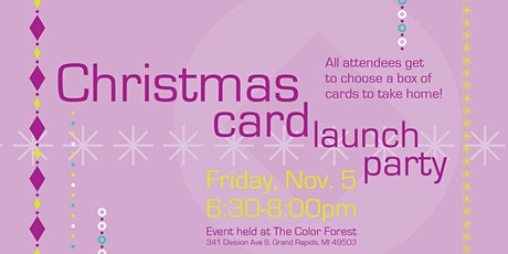 Christmas Card Launch Party tickets