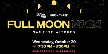 Full Moon Flow with Union Three at Sparkman Wharf! tickets