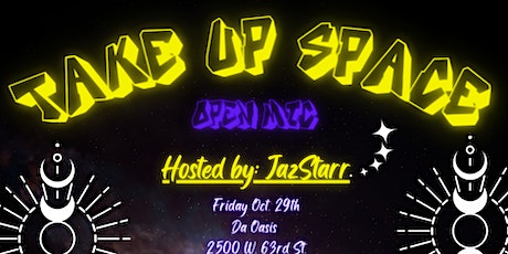 Take Up Space Open Mic tickets