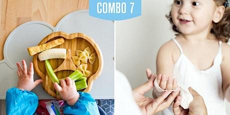 COMBO 7 (BLW- BLISS y Primeros auxilios pediátricos) entradas