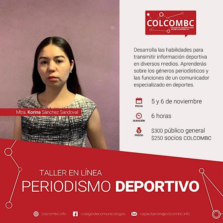Imagen de Taller en línea Periodismo Deportivo