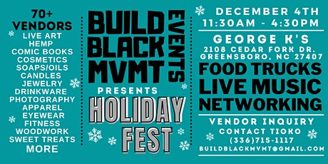 Build Black MVMT HOLIDAY FEST tickets
