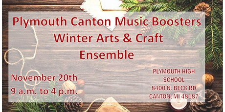 Plymouth Canton Music Boosters Winter Arts & Craft Show tickets