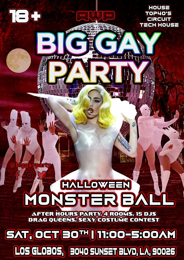Big Gay Party: Halloween | Monster Ball image