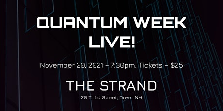 Quantum Week Live! tickets