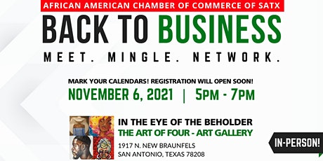 African American Chamber: Back To Business Networking Event tickets