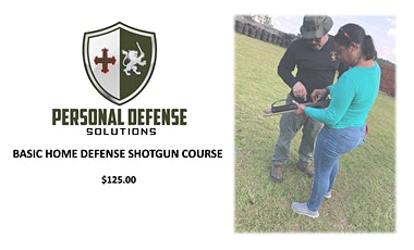 BASIC HOME DEFENSE SHOTGUN COURSE tickets