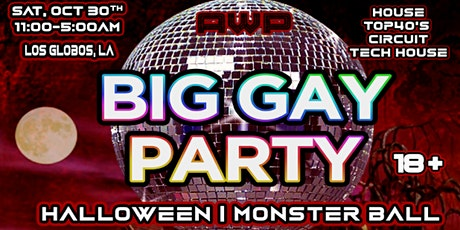Big Gay Party: Halloween | Monster Ball tickets