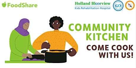 Community Kitchen with FoodShare - a virtual space to cook and connect tickets