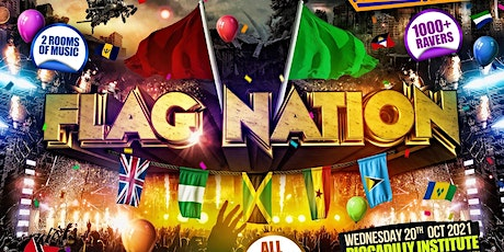FLAG NATION - London's Biggest Link Up Party tickets