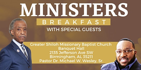 Alabama National Action Network - Minister's Breakfast 2021 tickets
