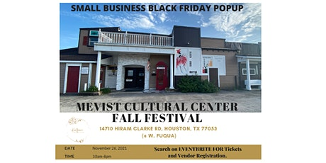 Black Friday Small Business Pop Up tickets