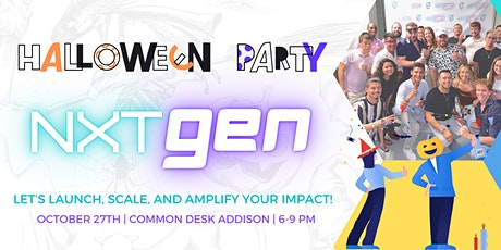 NXTGEN's Halloween Networking Event: Connect to Elevate Entrepreneurs tickets