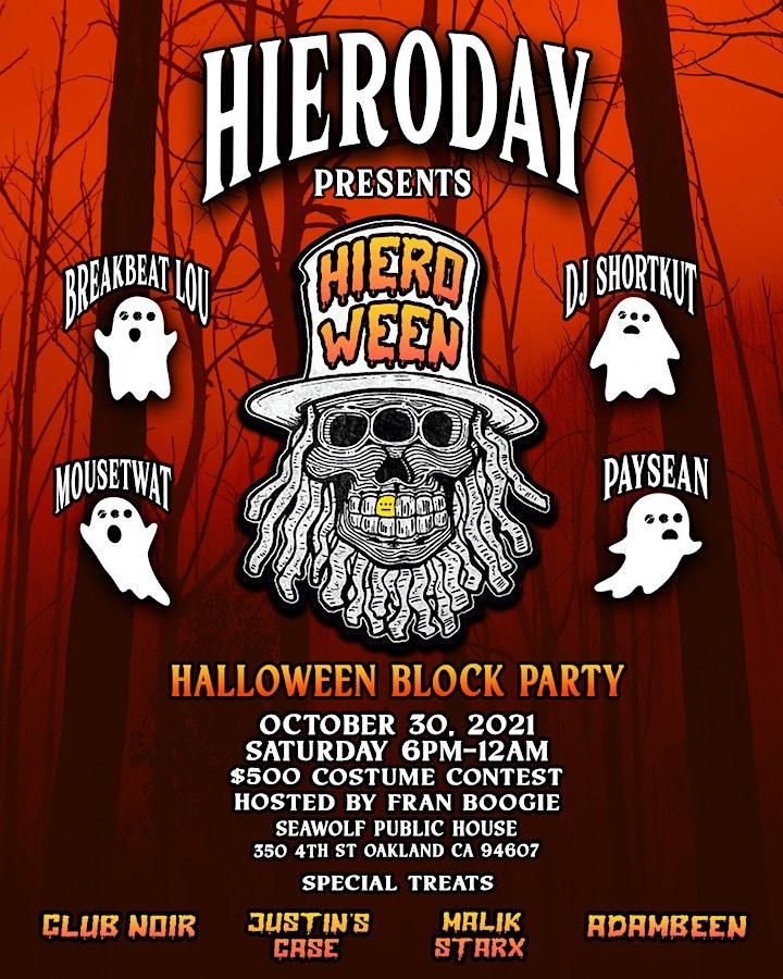 """Hiero Day along with Seawolf Pub, Calibaba & UBB presents """"HIEROWEEN"""" image"""