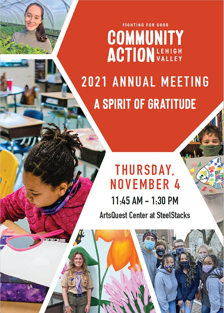 Community Action Lehigh Valley 2021 Annual Meeting image