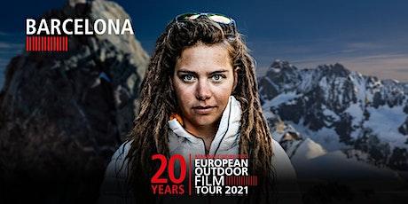 European Outdoor Film Tour 21 - Barcelona - Estreno entradas
