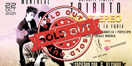 TRIBUTO A SODA STEREO MONTREAL 2021 tickets