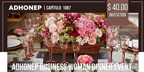 Business Woman Dinner ADHONEP tickets