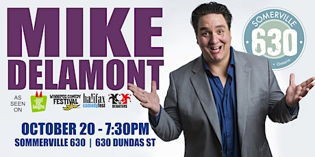 Mike Delamont - A Night of Comedy tickets