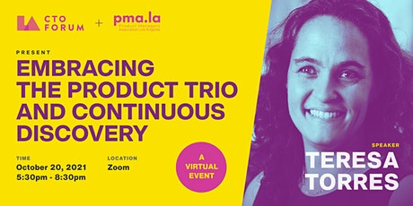 Private Online Event - Embracing the Product Trio and Continuous Discovery Tickets