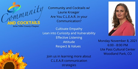 Community and Cocktails w/ Laurie Kroeger C.L.E.A.R tickets