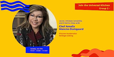 Jocón, Chicken tomatillo and Cilantro Stew with Chef Amalia Moreno-Damgaard tickets