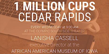 1 Million Cups Cedar Rapids: November 3 tickets