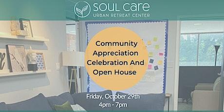 Soul Care Community Celebration & Open House tickets