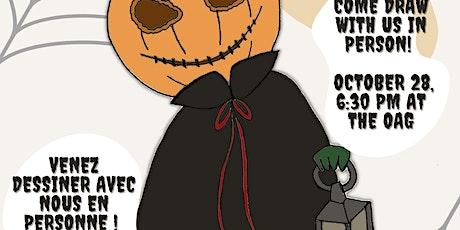 OAG's Sketchy Thursdays / Jeudis croquis, présentés par la GAO tickets