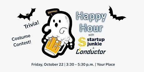 Halloween Virtual Happy Hour! tickets