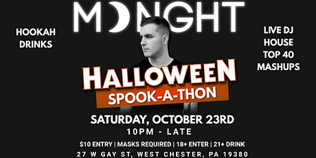 Halloween Spook-A-Thon feat. MDNGHT (Live DJ Night) tickets