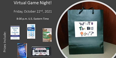 What's The BIG Idea? Virtual Game Night tickets