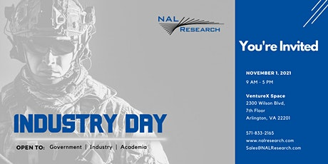 Industry Day by NAL Research  (DC - 2021) tickets