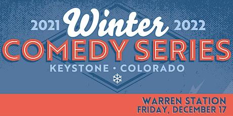 Warren Station's Winter Comedy Series, Friday December 17th, 2021 tickets