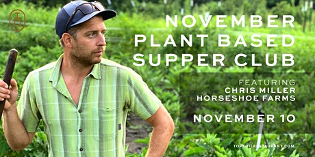 November  Plant Based Supper Club tickets