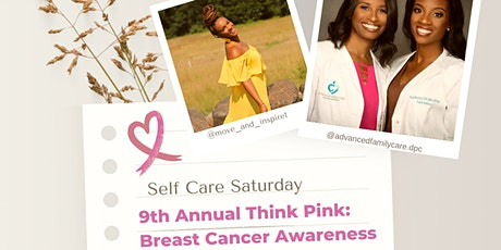 Self Care Saturday: Breast Cancer Awareness tickets