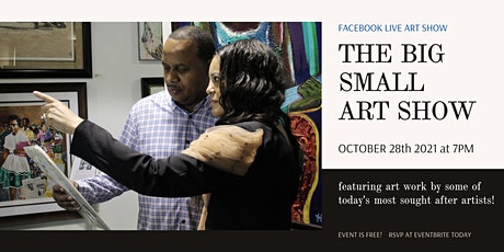 THE BIG SMALL ART SHOW tickets