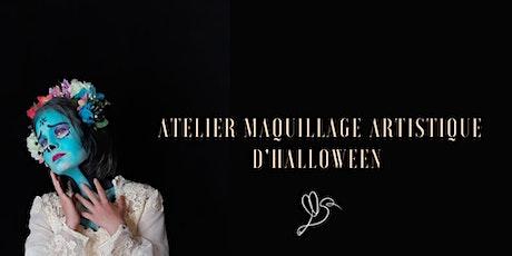 Atelier maquillage artistique d'Halloween spécial binôme Maman/Ado billets