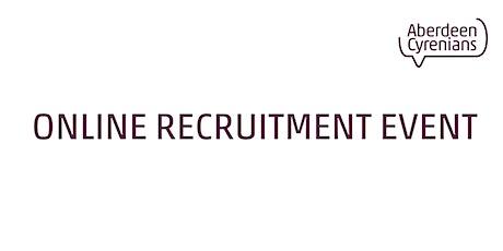 Aberdeen Cyrenians - Virtual Recruitment Evening tickets
