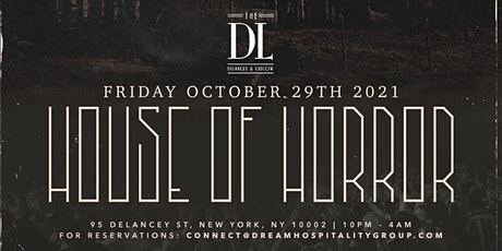 THE HOUSE OF HORROR @ THE DL ROOFTOP tickets