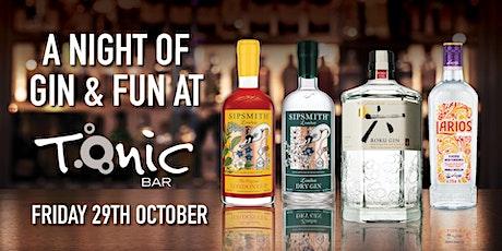 Gin Night at Tonic Bar tickets