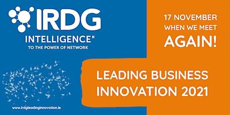 IRDG Leading Business Innovation 2021 tickets