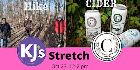 Hike, Cider, & Stretch tickets