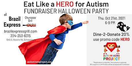 The Autism Hero Project Fundraiser Halloween Party 2021 tickets