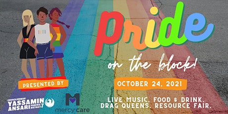 PRIDE On the Block tickets