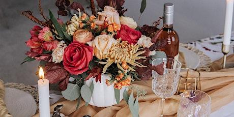 Autumn Arrangement Workshop with Brew+Bloom tickets